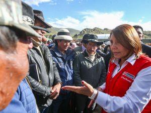 Apurímac: Impulsarán desarrollo de familias que habitan cerca del corredor minero