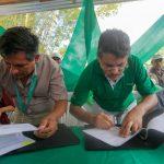 Huánuco: Devida firmó convenio con Municipalidad Distrital de Monzón por S/1.5 millones