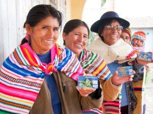 Junín: 100% de familias del programa Juntos realizan operaciones bancarias