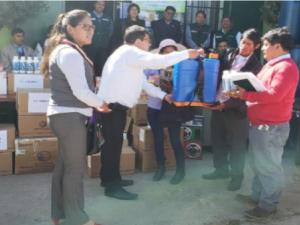 Junín: Minagri inicia entrega de kits agrícolas y pecuarios para enfrentar heladas