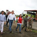 Ministra Jara dispuso acciones para regularizar transitibilidad en Yurimaguas