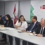 Ministra de Agricultura Fabiola Muñoz inicia reunión con productores agrarios