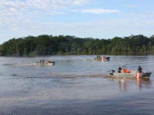 Nivel de agua del río Napo se incrementó y alcanzó la alerta roja