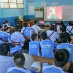Organizan cine forum sobre prevención del consumo de drogas en la región San Martín