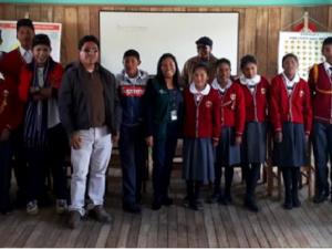 Puno: Minagri transfiere madera a colegio para proteger a alumnos de heladas