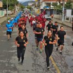 Quillabamba: Estudiantes participaron en maratón en rechazo al consumo de drogas