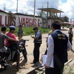Realizan operativo para detectar vehículos robados en Puerto Maldonado