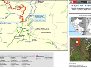 Rehabilitan vías en Huancavelica y Huánuco afectadas por lluvias