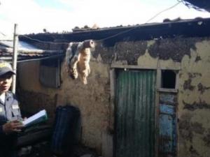 Reponen viviendas afectadas por granizada en Junín