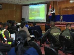 Senamhi realizó taller sobre bajas temperaturas en Ayacucho