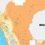 Tingo de Ponasa (San Martín) registró la temperatura más alta