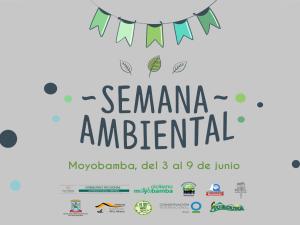 Inician actividades por la Semana Ambiental en Moyobamba