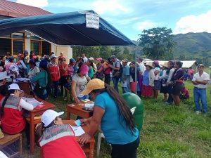 Más de 7 mil atenciones sociales recibirán las comunidades rurales más alejadas de Apurímac y Cusco