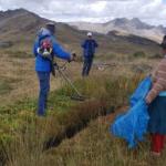 Minagri hizo entrega de equipamiento contra las heladas en Pasco