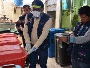 Minsa promueve buen manejo de residuos sólidos