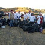 Realizan jornada de limpieza alrededor del Parque Arqueológico de Sacsayhuamán