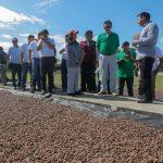 """San Martín: Devida entrega """"cheque del desarrollo"""" a Municipalidad Distrital de Pólvora"""
