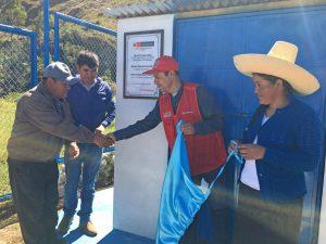 Foncodes entregó 4 sistemas de agua clorada en Cajamarca