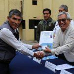 Buzos artesanales con certificación para formalización de la pesca en la RNSIIPG