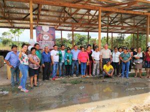 Entregan tercer módulo de post cosecha de cacao a productores de Tocache