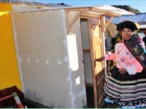 Huancavelica: Acondicionan viviendas para afrontar temporada de heladas