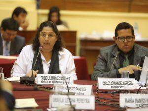 Ministra Muñoz: Ventanilla Única de Servicios impulsará la agricultura familiar