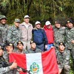 Presidente de la República y gobernador regional de San Martín llegaron al Gran Pajatén