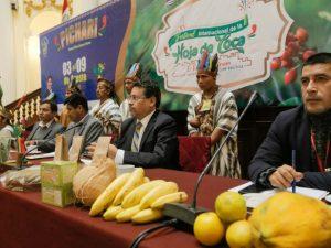 Realizan lanzamiento del XV Festival Internacional de la Hoja de Coca