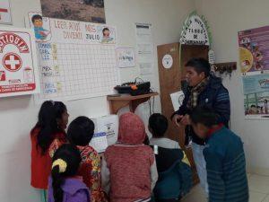 Refuerzan hábitos de lectura de la niñez quechua hablante ayacuchana