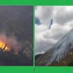 Amazonas: Equipo Bambi Bucket es trasladado para extinción de incendio forestal