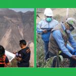 Apurímac: Redoblan esfuerzos para aminorar afectaciones por deslizamiento de cerro Chamanayoc