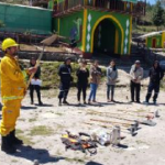 Capacitan a brigadistas para atender incendios forestales en Cutervo
