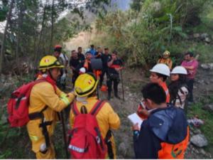 Cusco: Entidades de primera respuesta trabajan en control de incendio forestal en el distrito de Machupicchu