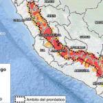 Descenso de temperatura en la sierra pone en muy alto riesgo a 123 distritos