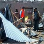 Entregan ayuda a familias afectadas por vientos fuertes en Apurimac