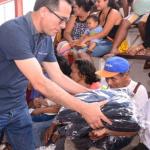 Huánuco: Entregan ayuda humanitaria en Puerto Inca ante bajas temperaturas