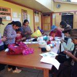 Apurímac: Impulsan emprendimiento de madres quechua hablantes a través de tejidos a mano