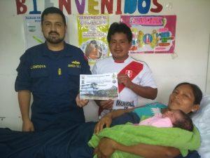 Loreto: Dos nacimientos se atendieron a bordo del Buque Auxiliar Pastaza en comunidad nativa