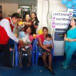 Midis promueve la lactancia materna en comunidades rurales de la Amazonía