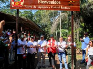 Minam inauguró vía de acceso en RN de Tambopata para promover el turismo inclusivo