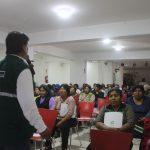 Promueven buenas prácticas de higiene en comerciantes de Moquegua