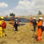 Sernanp capacita a Policía de Alta Montaña en prevención y atención de incendios forestales