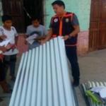 Gobierno Regional de Loreto entregó ayuda humanitaria a damnificados por vientos fuertes