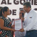 Ministerio de Vivienda entregó títulos de propiedad en la provincia de Maynas