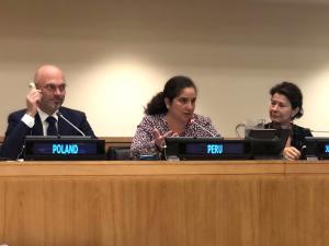 """Ministra del Ambiente: """"El Perú mantiene su liderazgo en el tema climático"""""""