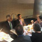 Ministra Ruíz expuso medidas de acción climática como parte de resultados de coalición que lideran Perú y España