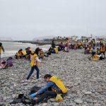 Se realizó labor de limpieza en playa Carpayo