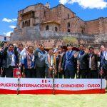 Cusco: Firman contrato de asistencia técnica para la construcción del aeropuerto de Chinchero