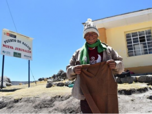 Huancavelica: Ayuda humanitaria a población más vulnerable por bajas temperaturas