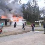 Entregan ayuda humanitaria a damnificados tras incendio en San Martín
